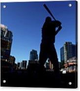 Los Angeles Dodgers V San Diego Padres Acrylic Print