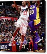 Los Angeles Lakers V La Clippers Acrylic Print