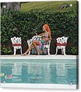 Lounging In Bermuda Acrylic Print