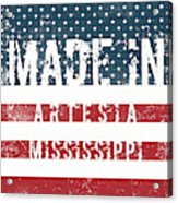Made In Artesia, Mississippi Acrylic Print