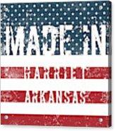 Made In Harriet, Arkansas Acrylic Print