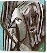 Man And A Bird Acrylic Print