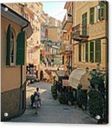 Manarola Italy Acrylic Print