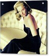 Martha Hyer, Vintage Actress Acrylic Print