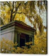 Mausoleum In Georgia Acrylic Print
