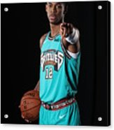 Memphis Grizzlies Portrait Shoot In Acrylic Print