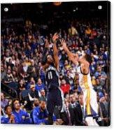 Memphis Grizzlies V Golden State Acrylic Print