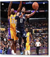 Memphis Grizzlies V Los Angeles Lakers Acrylic Print