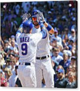 Milwaukee Brewers V Chicago Cubs 1 Acrylic Print