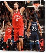 Minnesota Timberwolves V Toronto Raptors Acrylic Print