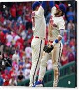 Minnesota Twins V Philadelphia Phillies 1 Acrylic Print