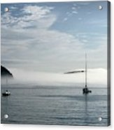 Morning Mist On Frenchman's Bay Acrylic Print