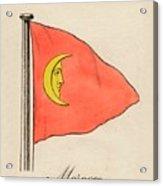 Morocco, 1838 Acrylic Print