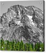 Mountain Rising Acrylic Print