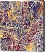 Munich Germany City Map Acrylic Print