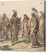 Native Americans Acrylic Print
