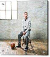 Nba All-star Portraits 2017 Acrylic Print