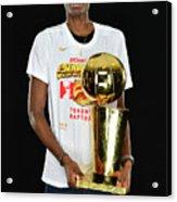 Nba Finals Portraits Acrylic Print