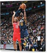 New Orleans Pelicans V Utah Jazz Acrylic Print