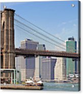 New York City Brooklyn Bridge Acrylic Print