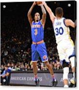 New York Knicks V Golden State Warriors Acrylic Print