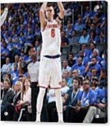 New York Knicks V Oklahoma City Thunder Acrylic Print