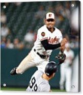 New York Yankees V Baltimore Orioles 1 Acrylic Print
