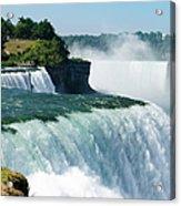 Niagara Falls From The Usa Side Acrylic Print