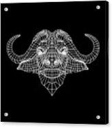 Night Buffalo Acrylic Print