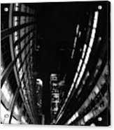 Nyc In Black And White Vii Acrylic Print