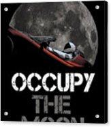 Occupy The Moon Acrylic Print