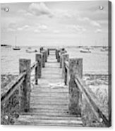 Old Dock Hyannis Port Cape Cod Ma Acrylic Print