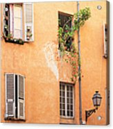 Old Town Of Nice, French Riviera, France Acrylic Print