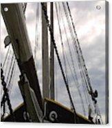 Old Viking Vessel Acrylic Print