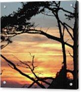 Oregon Coast Sunset Acrylic Print