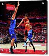 Orlando Magic V Atlanta Hawks Acrylic Print
