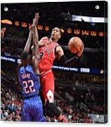 Orlando Magic V Chicago Bulls Acrylic Print