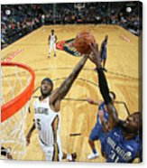 Orlando Magic V New Orleans Pelicans Acrylic Print