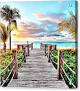 1 Paradise Pier Acrylic Print