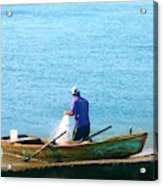Pescador Acrylic Print