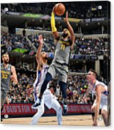 Philadelphia 76ers V Memphis Grizzlies Acrylic Print