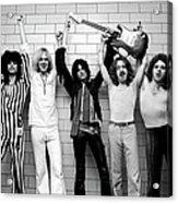 Photo Of Aerosmith And Tom Hamilton And Acrylic Print