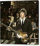 Photo Of Beatles And Paul Mccartney Acrylic Print