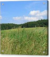 Photography Landscape With Fields In Germany Acrylic Print