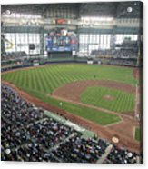Pittsburg Pirates V Milwaukee Brewers Acrylic Print