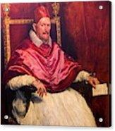Pope Innocent X Acrylic Print