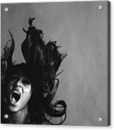 Portrait Of Tina Turner Acrylic Print