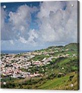 Portugal, Azores, Faial Island, Horta Acrylic Print