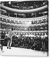 Ray Charles At Carnegie Hall Acrylic Print