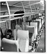 Ray Charles On His Tour Bus Acrylic Print